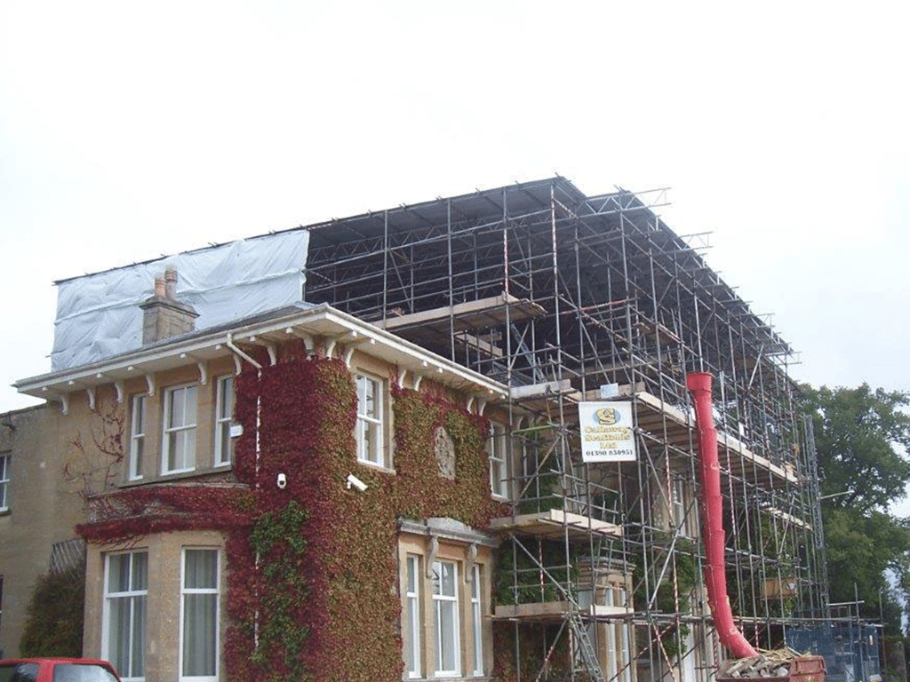 Ampney St Peter, Professional Scaffold Services, Callaway Scaffolds Ltd, Westbury