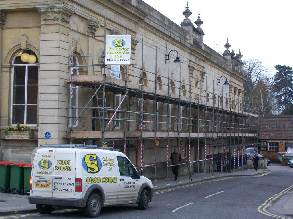 Devizes, Professional Scaffold Services, Callaway Scaffolds Ltd, Westbury