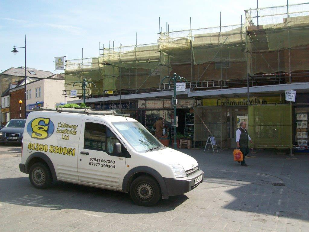 Professional Scaffold Services, Callaway Scaffolds Ltd, Westbury