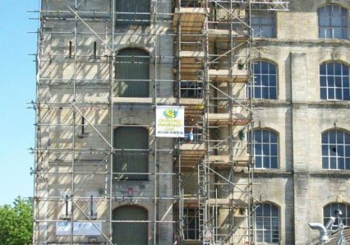 Flat Roof Repairs, Professional Scaffold Services, Callaway Scaffolds Ltd, Westbury